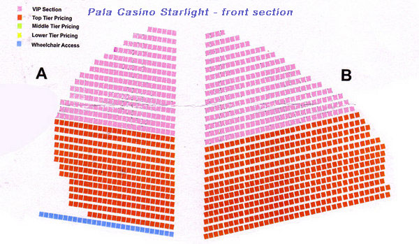 Pala casino seating casino games pc windows 7