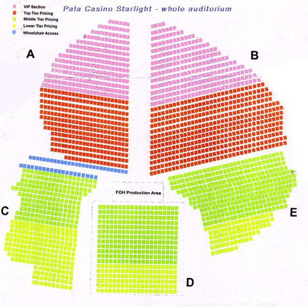 Seating Chart Detailed